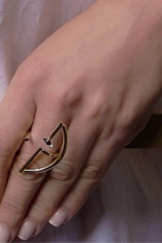Half Circle Open Ring