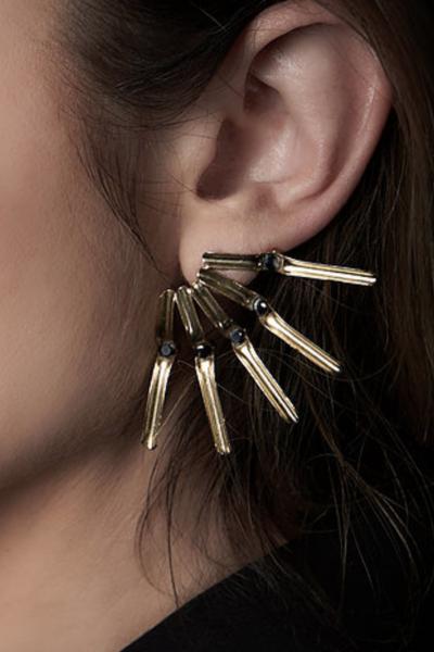 5 Tubes Earring