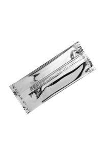 Designer Tasche Clutch mieten silber