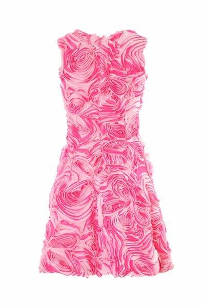 Cocktailkleid mit Rosen zum leihen Cocktail dress with roses