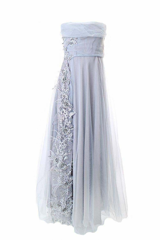 Brautjungfernkleid Ballkleid Tüll miete festlich Kleider