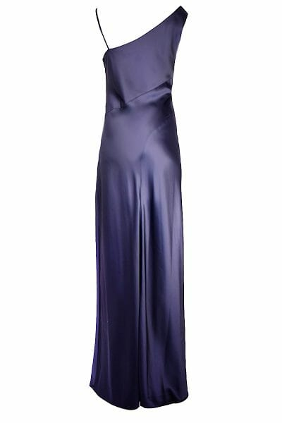Blaues Maxi Kleid leihen für Ball Gala Event Plus Size Dress