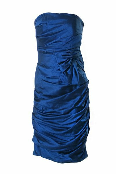 drapiertes_kleid_dress_glanz_blau_party_johncharles_1