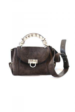 SALVATORE FERRAGAMO Mini 'Sofia' Handtasche Leder
