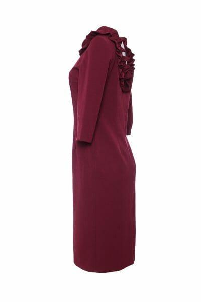 designer Midi Kleid elegant