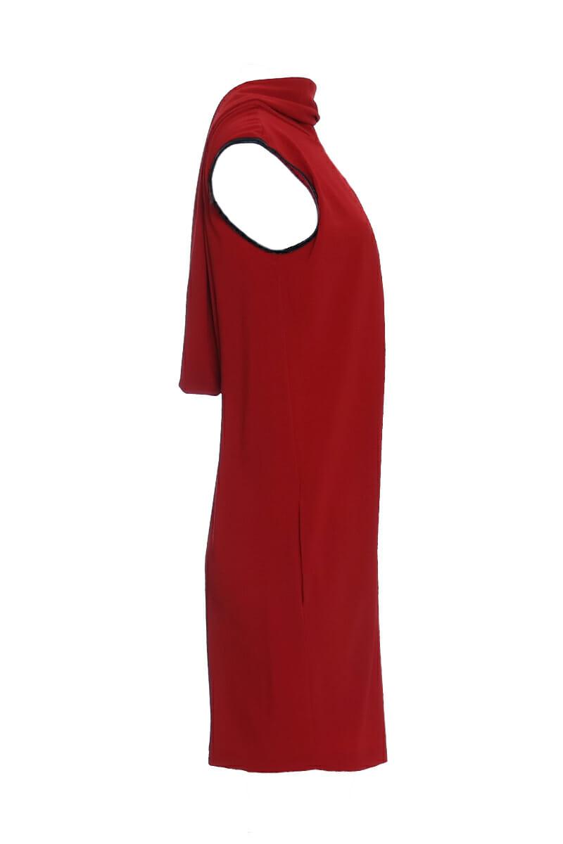 [:en]Cowl neck dress[:de]Kleid mit Wasserfallausschnitt[:]