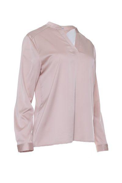 Elegante Bluse in Rose