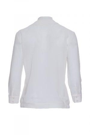 Elegante Bluse in Weiss