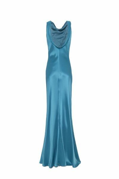 Abendkleid maxi Abendkleid mit Rückenausschnitt