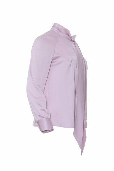 Elegante Bluse mit Schleife