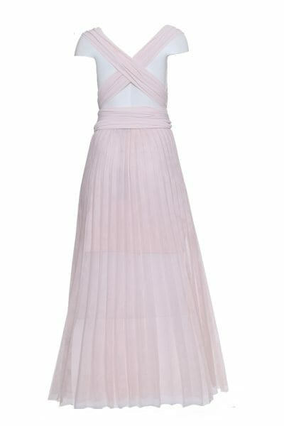 Langes und elegantes Abendkleid