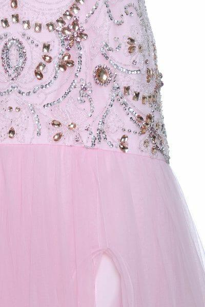 Meerjungfrauen-Ballkleid Rosa
